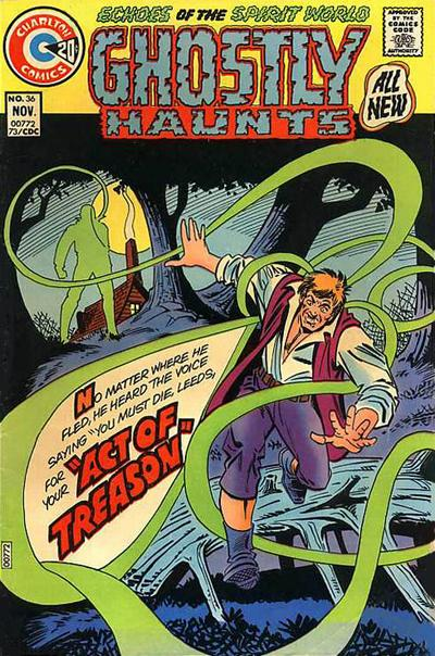 Cover for Ghostly Haunts (Charlton, 1971 series) #36