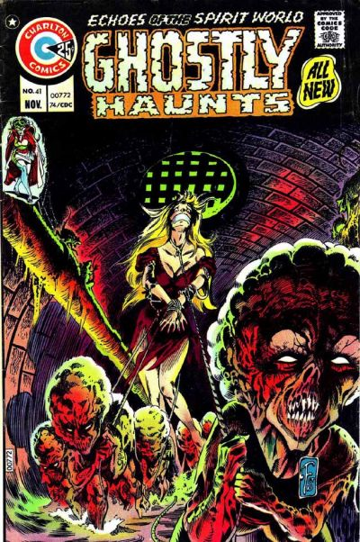 Cover for Ghostly Haunts (Charlton, 1971 series) #41