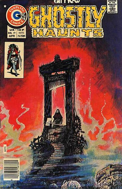 Cover for Ghostly Haunts (Charlton, 1971 series) #49