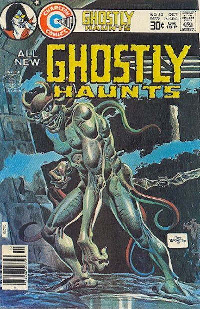 Cover for Ghostly Haunts (Charlton, 1971 series) #52