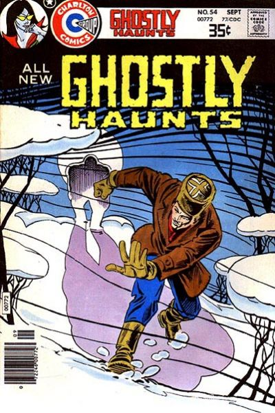 Cover for Ghostly Haunts (Charlton, 1971 series) #54