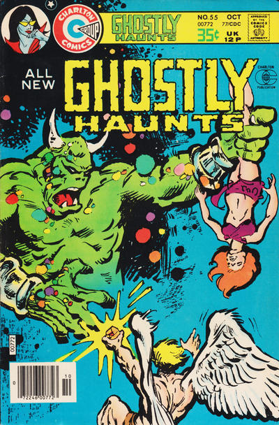 Cover for Ghostly Haunts (Charlton, 1971 series) #55