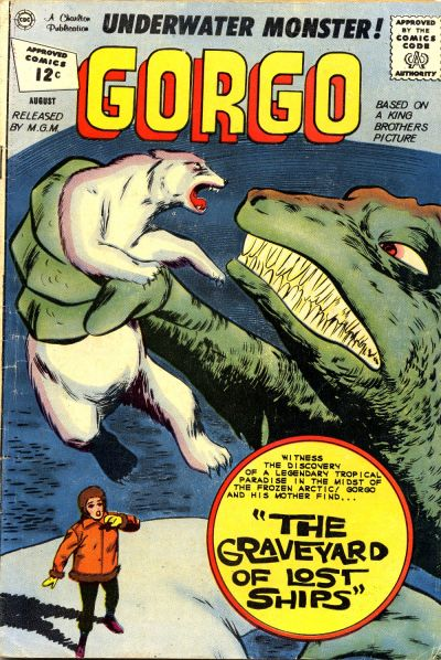 Cover for Gorgo (Charlton, 1961 series) #8