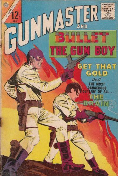 Cover for Gunmaster (Charlton, 1965 series) #84