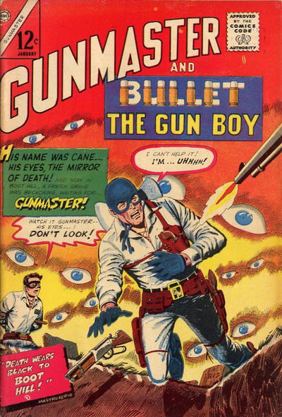 Cover for Gunmaster (Charlton, 1965 series) #87