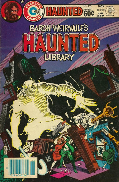 Cover for Haunted (Charlton, 1971 series) #70