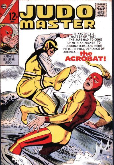 Cover for Judomaster (Charlton, 1966 series) #95