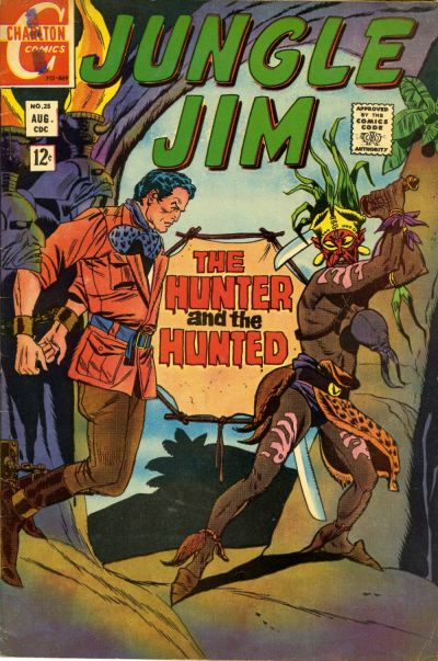 Cover for Jungle Jim (Charlton, 1969 series) #25