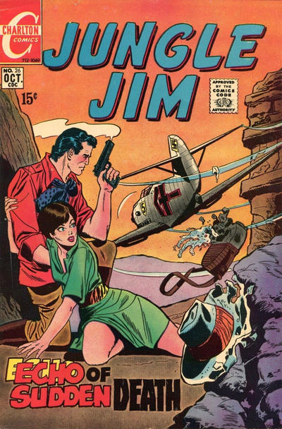 Cover for Jungle Jim (Charlton, 1969 series) #26