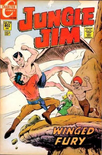 Cover for Jungle Jim (Charlton, 1969 series) #27