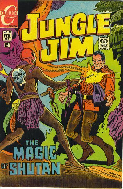 Cover for Jungle Jim (Charlton, 1969 series) #28