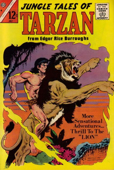 Cover for Jungle Tales of Tarzan (Charlton, 1964 series) #4