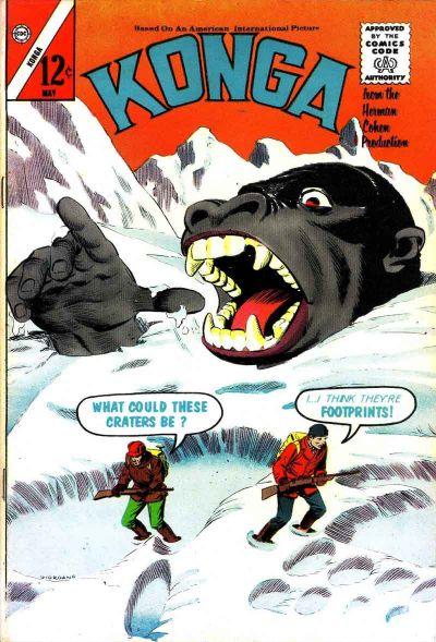 Cover for Konga (Charlton, 1960 series) #12