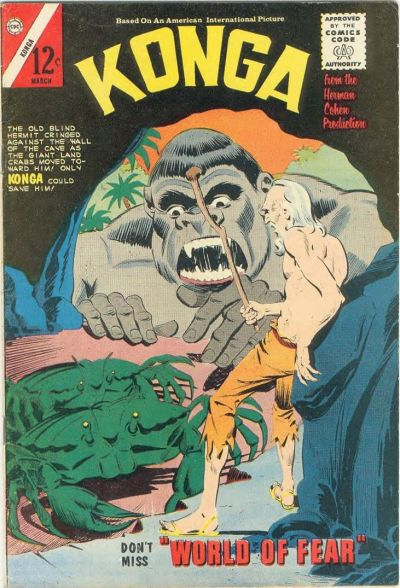Cover for Konga (Charlton, 1960 series) #17