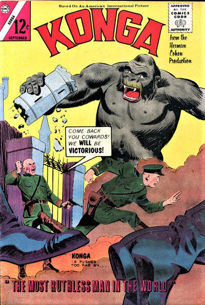 Cover for Konga (Charlton, 1960 series) #19