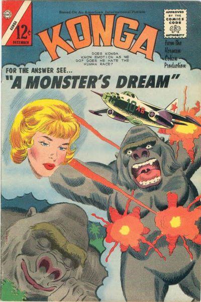 Cover for Konga (Charlton, 1960 series) #20