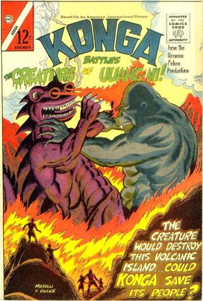 Cover for Konga (Charlton, 1960 series) #23