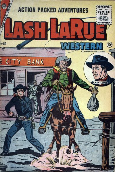 Cover for Lash Larue Western (Charlton, 1954 series) #60