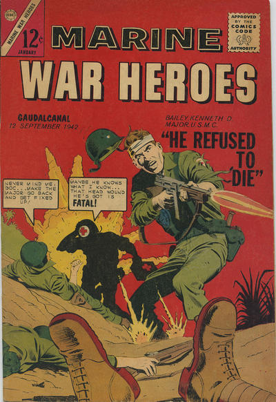 Cover for Marine War Heroes (Charlton, 1964 series) #1
