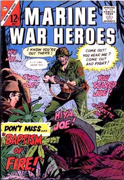 Cover for Marine War Heroes (Charlton, 1964 series) #14