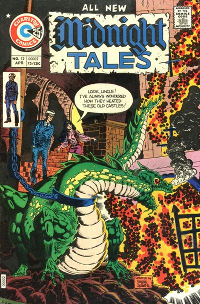 Cover for Midnight Tales (Charlton, 1972 series) #12
