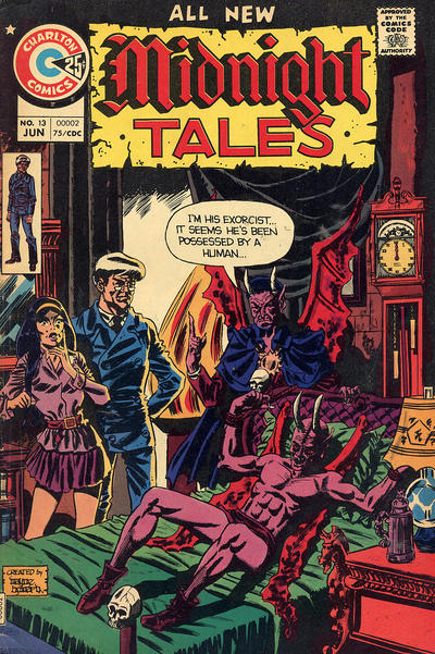 Cover for Midnight Tales (Charlton, 1972 series) #13