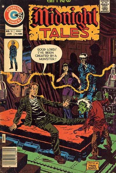 Cover for Midnight Tales (Charlton, 1972 series) #16