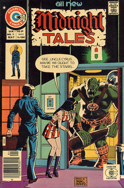 Cover for Midnight Tales (Charlton, 1972 series) #18