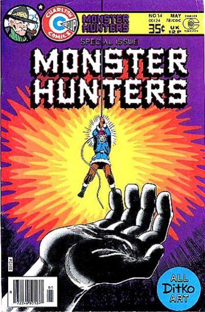 Cover for Monster Hunters (Charlton, 1975 series) #14