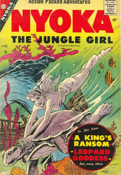Cover for Nyoka the Jungle Girl (Charlton, 1955 series) #21