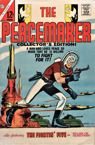 Cover for The Peacemaker (Charlton, 1967 series) #1