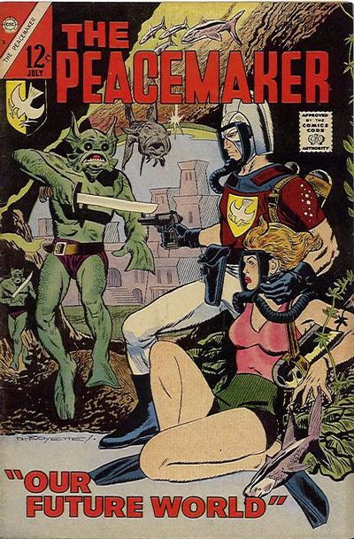Cover for The Peacemaker (Charlton, 1967 series) #3