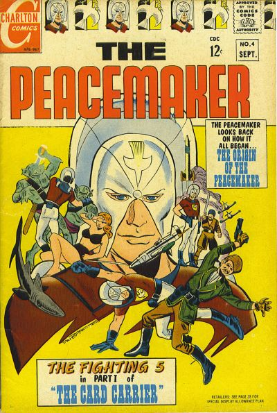 Cover for The Peacemaker (Charlton, 1967 series) #4