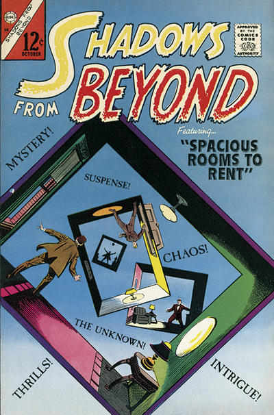 Cover for Shadows from Beyond (Charlton, 1966 series) #50