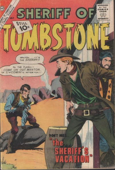 Cover for Sheriff of Tombstone (Charlton, 1958 series) #16