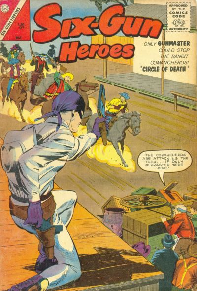 Cover for Six-Gun Heroes (Charlton, 1954 series) #74