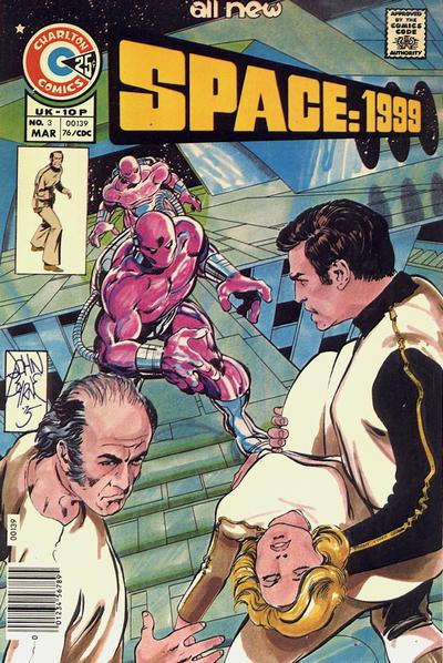 Cover for Space: 1999 [comic] (Charlton, 1975 series) #3