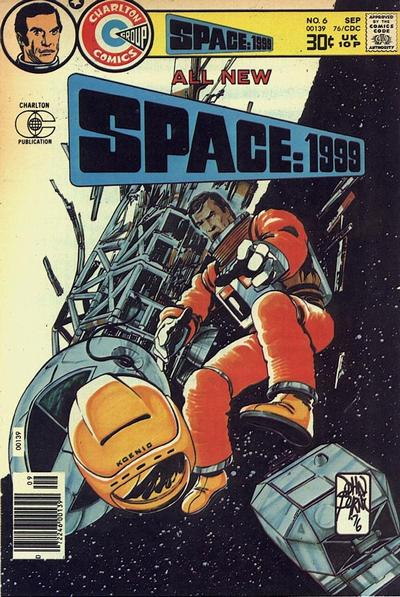 Cover for Space: 1999 [comic] (Charlton, 1975 series) #6