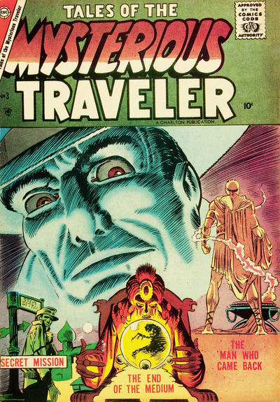 Cover for Tales of the Mysterious Traveler (Charlton, 1956 series) #3