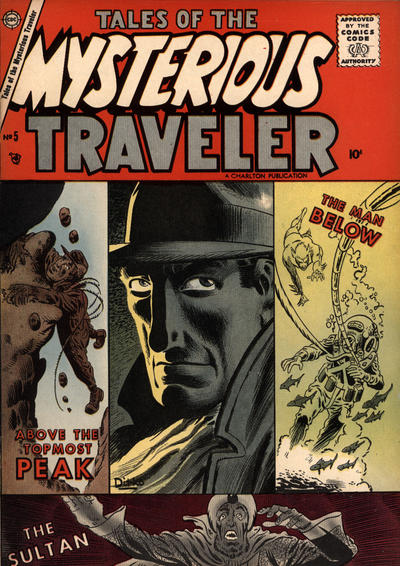 Cover for Tales of the Mysterious Traveler (Charlton, 1956 series) #5