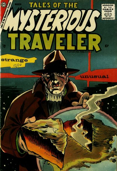 Cover for Tales of the Mysterious Traveler (Charlton, 1956 series) #7