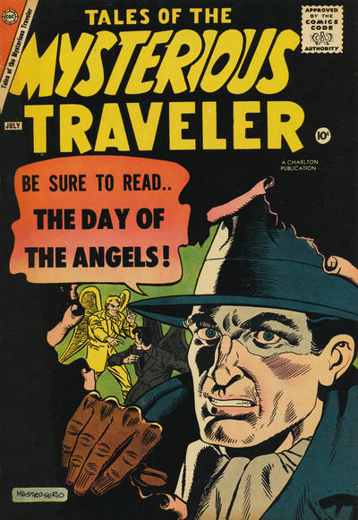 Cover for Tales of the Mysterious Traveler (Charlton, 1956 series) #8