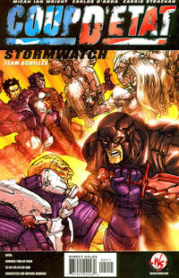 Cover Thumbnail for Coup D'etat: StormWatch (DC, 2004 series) #1 (2) [Carlos D'Anda Cover]
