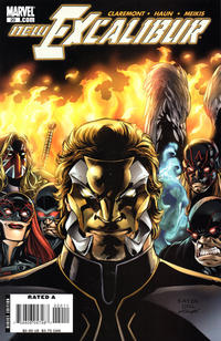 Cover Thumbnail for New Excalibur (Marvel, 2006 series) #20 [Direct Edition]