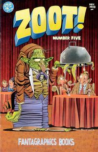 Cover Thumbnail for Zoot! (Fantagraphics, 1992 series) #5