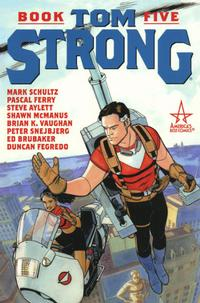 Cover Thumbnail for Tom Strong (DC, 2001 series) #5