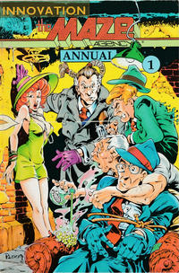 Cover Thumbnail for The Maze Agency Annual (Innovation, 1990 series) #1