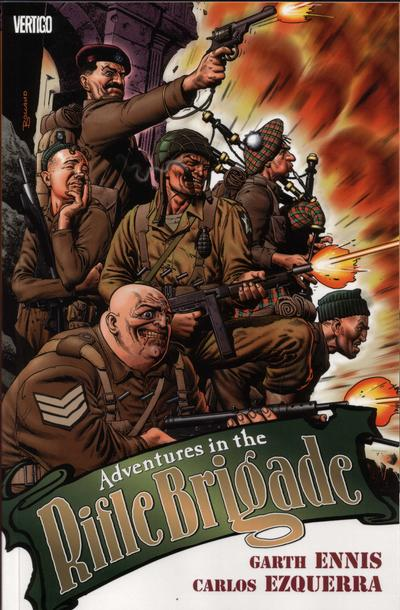 Cover for Adventures in the Rifle Brigade (DC, 2004 series)