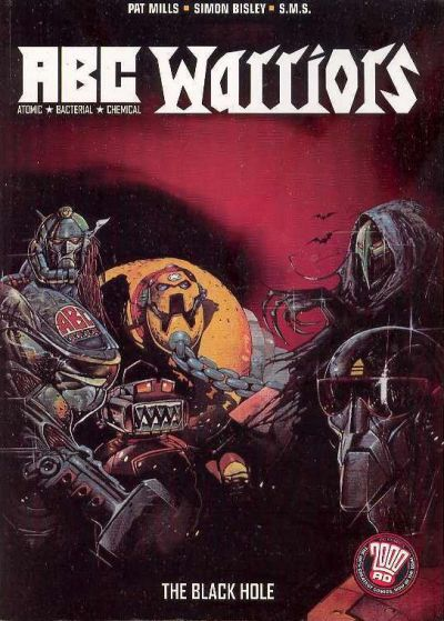 Cover for A.B.C. Warriors: The Black Hole (DC, 2005 series) #[nn]