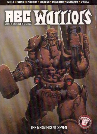 Cover for A.B.C. Warriors: The Meknificent Seven (DC, 2005 series) #[nn]